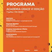 Academia GRACE bate record de participações