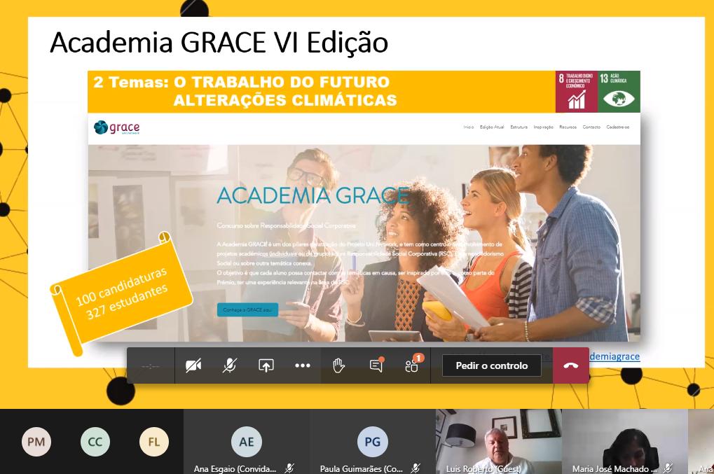 VI Edição da Academia GRACE alinhada com os ODS
