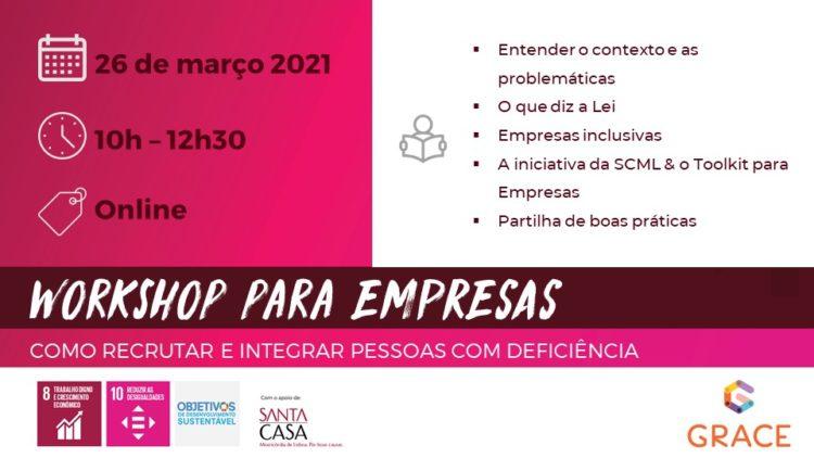 Workshop Recrutamento e Integração de Pessoas com Deficiência
