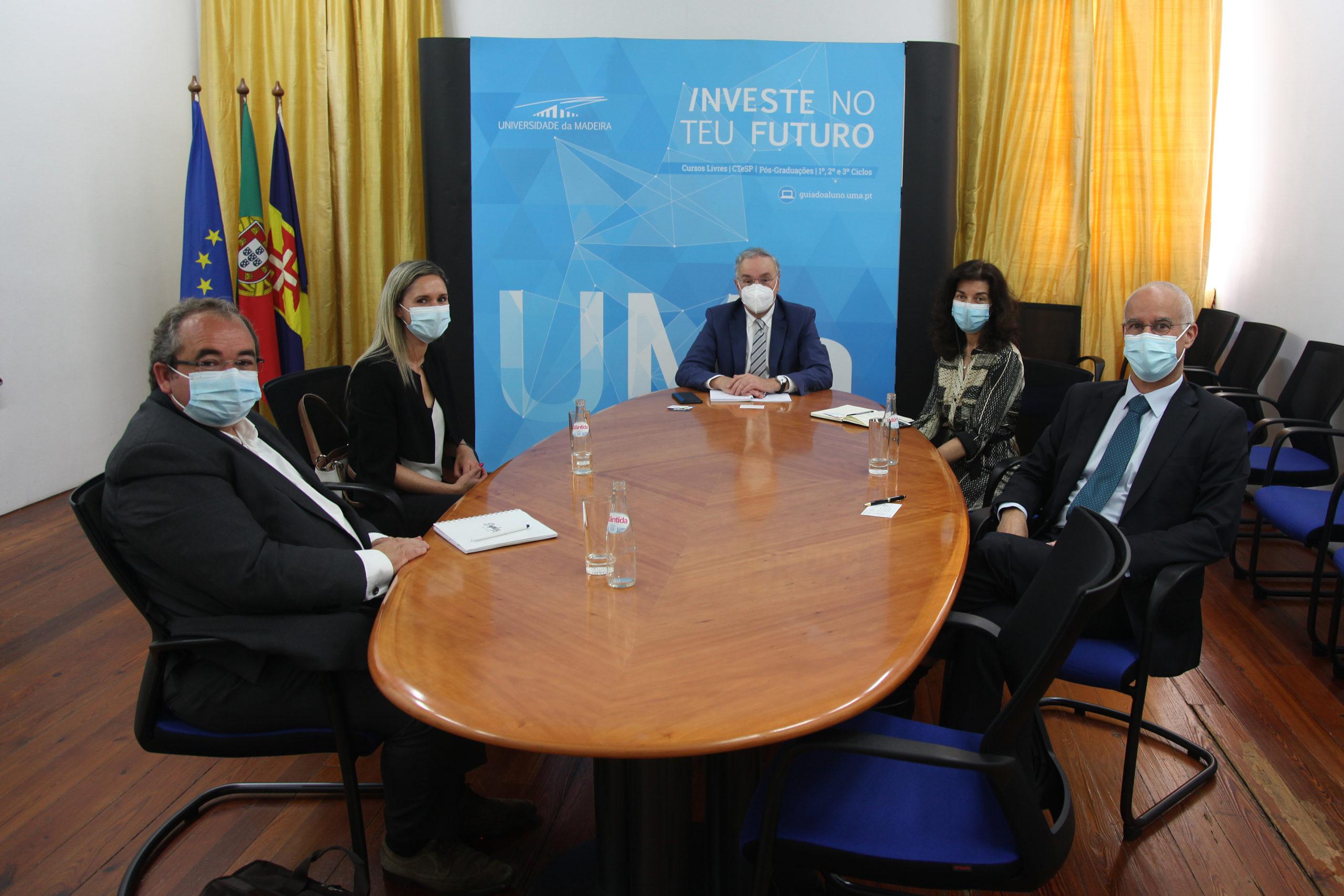 Universidade da Madeira recebe delegação do GRACE