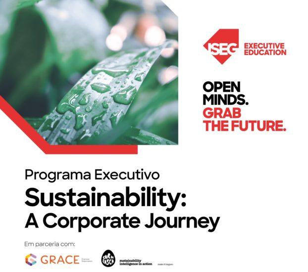 Sustainability: A Corporate Journey, Estratégias para Empresas Responsáveis. Inscrições abertas!