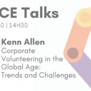 GRACE Talks | Voluntariado corporativo com Kenn Allen